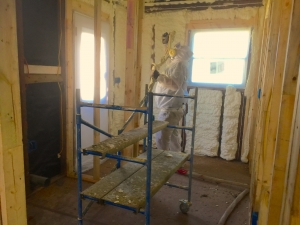 Open Cell Spray Foam Remodel